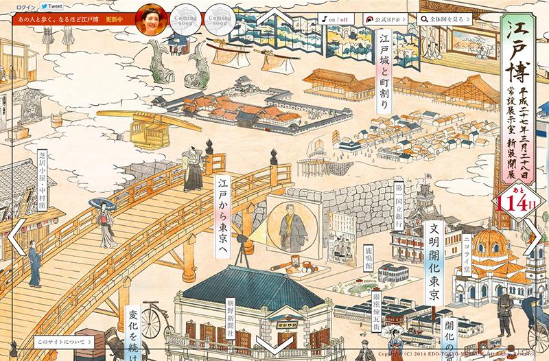 江戸東京博物館 常設展示室