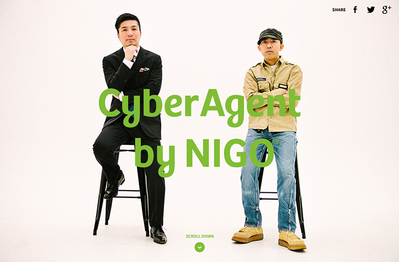CyberAgent by NIGO