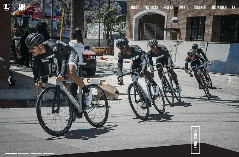 Leader Bikes x Undefeated ピストレーシングチーム