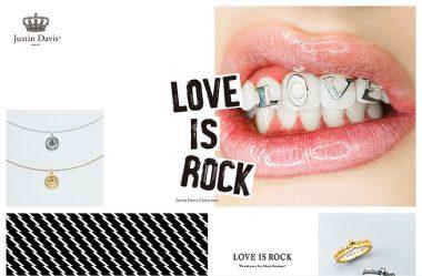 LOVE IS ROCK // Justin Davis®