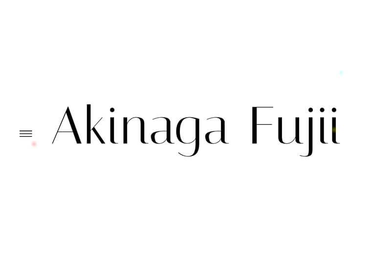 Photographer Akinaga Fujii
