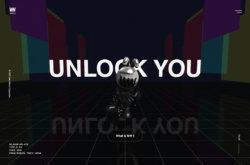 UNLOCK YOUのWebデザイン