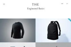 THE Co. Ltd.のWebデザイン
