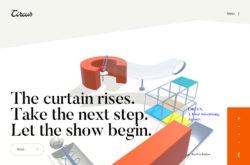 CIRCUS Inc.のWebデザイン
