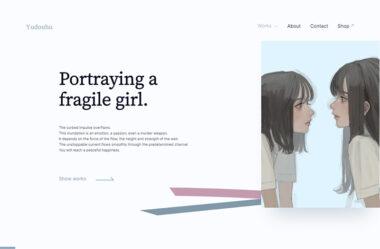 ゆどうふ | Yudouhu portfolio site